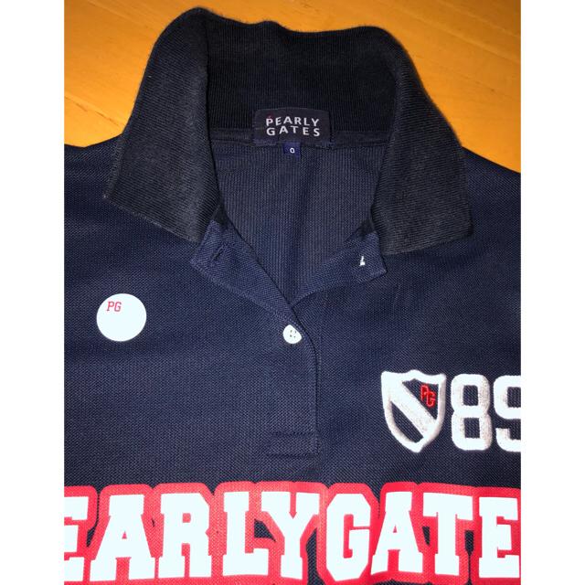 PEARLY GATES(パーリーゲイツ)のパーリーゲイツポロシャツ0 スポーツ/アウトドアのゴルフ(ウエア)の商品写真