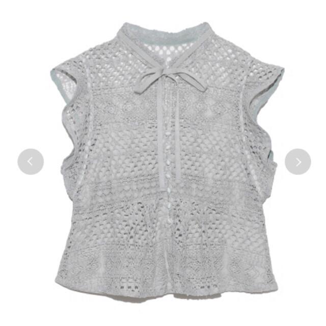 snidel(スナイデル)の完売色🌷新作新品🍀ヘムフレアレーススカート&ブラウス セットアップ レディースのスカート(ロングスカート)の商品写真