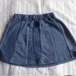 ニシマツヤ(西松屋)のデニム風スカート 90㎝(スカート)