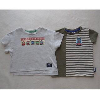 サマンサモスモス(SM2)のTOMAS Tシャツ サマンサモス ラーゴム  95 センチ 2枚(Tシャツ/カットソー)