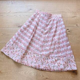 TOCCA - 新品 トッカ スカート サイズ2 刺繍ボーダー 4723