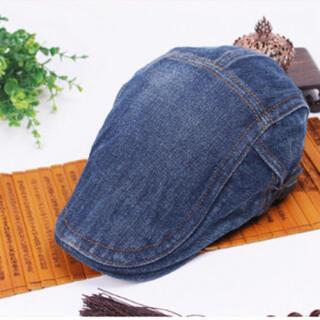 デニム ハンチング 帽子 キャップ ベレー帽 メンズ レディース キャスケット(ハンチング/ベレー帽)