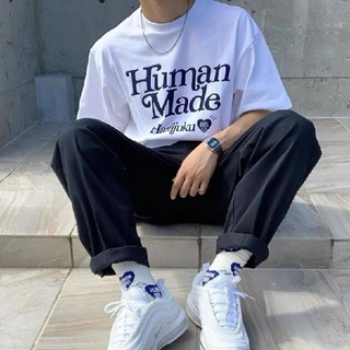 HUMAN MADE × Girls Don't Cry Tシャツ ホワイト  (Tシャツ/カットソー(半袖/袖なし))