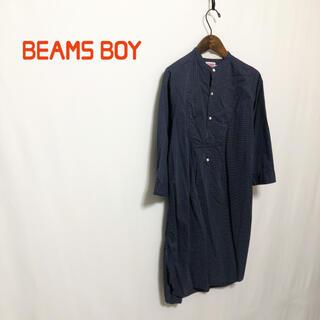 ビームスボーイ(BEAMS BOY)の【BEAMS BOY】ノーカラードットシャツ(シャツ/ブラウス(長袖/七分))