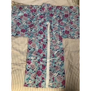 サンリオ(サンリオ)の浴衣  女の子  着物  シナモロール  130cm(甚平/浴衣)