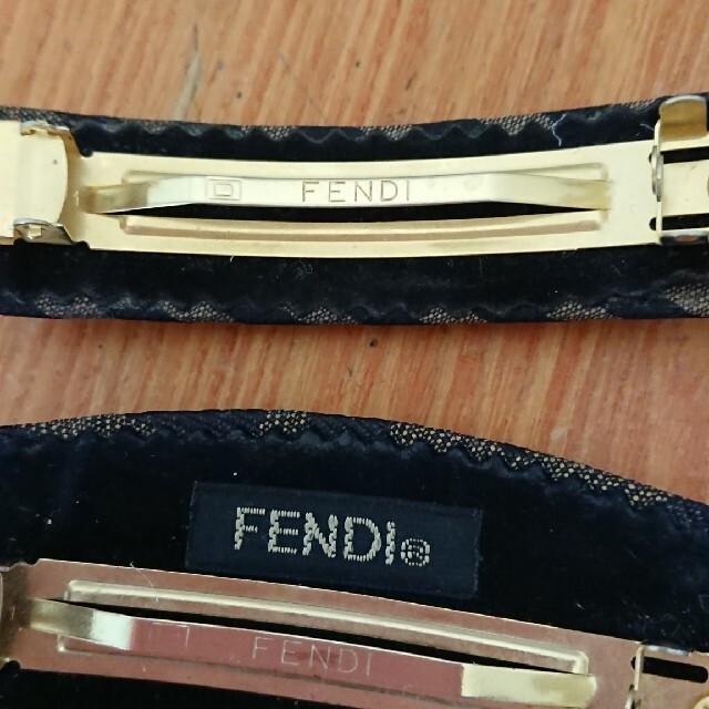 FENDI(フェンディ)のフェンディ バレッタ  レディースのヘアアクセサリー(バレッタ/ヘアクリップ)の商品写真