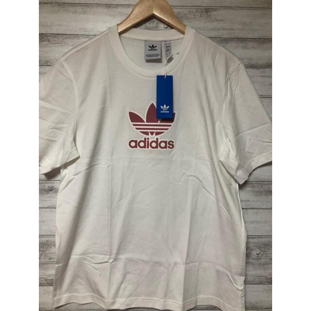 adidas(アディダス)の新品タグ付き アディダスオリジナルス トレフォイル tシャツ ホワイト メンズのトップス(Tシャツ/カットソー(半袖/袖なし))の商品写真