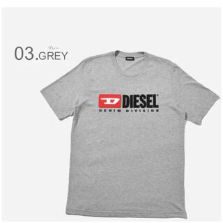 ディーゼル(DIESEL)のDiesel Tシャツ ビンテージロゴ グレー  M ディーゼル(Tシャツ/カットソー(半袖/袖なし))