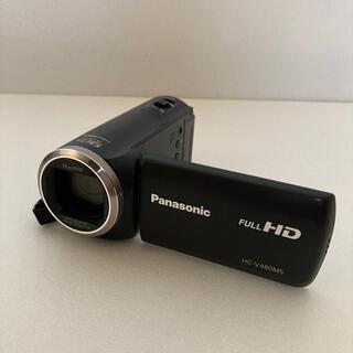 Panasonic - Panasonic ビデオカメラ HC-V480MS ブラック
