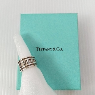 Tiffany & Co. - 【TIFFANY】アトラスリング / SILVER 925 / USED/箱なし