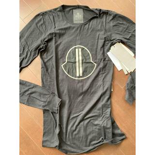 モンクレール(MONCLER)のモンクレール リックオーウェン長袖カットソー XS(Tシャツ/カットソー(七分/長袖))