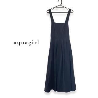 aquagirl - aquagirl アクアガール ワンピース AG ジャンパースカート