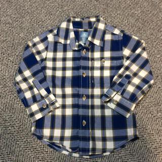ベビーギャップ(babyGAP)のbabygap  チェックシャツ 95(Tシャツ/カットソー)