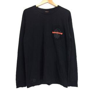 クロムハーツ(Chrome Hearts)のクロムハーツCHROME HEARTS■ダガープリント胸ポケットカットソー(Tシャツ/カットソー(七分/長袖))