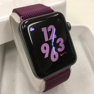 Apple Watch - Apple Watch series2 ナイキ アップルウォッチ 42mm 黒