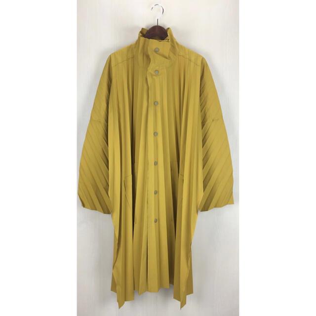 ISSEY MIYAKE(イッセイミヤケ)のHOMME PLISSE ISSEY MIYAKE◆プリーツスタンドカラーコート メンズのジャケット/アウター(ステンカラーコート)の商品写真