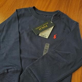 POLO RALPH LAUREN - 新品 ポロ ラルフローレン キッズ Tシャツ 長袖 ロンT ネイビー 紺 100
