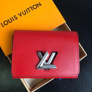 LOUIS VUITTON - ルイヴィト ポルトフォイユツイストコンパクト