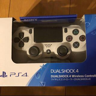 プレイステーション4(PlayStation4)の新品 PlayStation4 コントローラー グレイシャーホワイト 1個(その他)