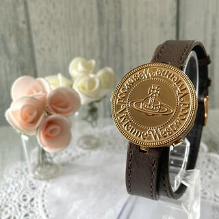 ヴィヴィアンウエストウッド(Vivienne Westwood)の【動作OK】ヴィヴィアン 腕時計 VW-77B6 コインウォッチ(腕時計(アナログ))