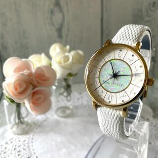 スタージュエリー(STAR JEWELRY)の【希少】STAR JEWELRY 限定 腕時計 ホワイトゾディアック 限定(腕時計)