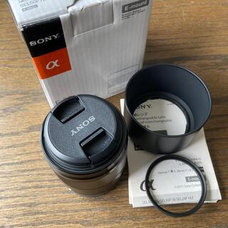 SONY - ほぼ未使用/SEL50F18/単焦点レンズ E50mm F1.8