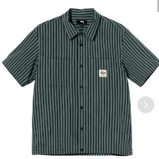 STUSSY - STUSSY / Striped Garage Shirt,シャツ/ブラウス