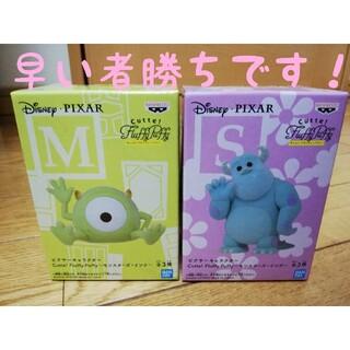 Fluffy Puffy モンスターズインク マイク サリー フィギュア(アニメ/ゲーム)