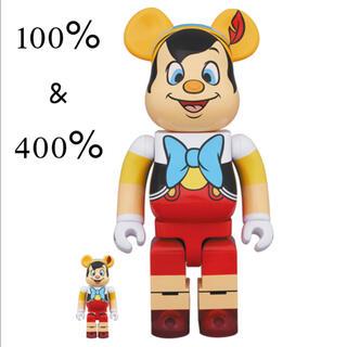 MEDICOM TOY - BE@RBRICK PINOCCHIO 100% & 400% ピノキオ