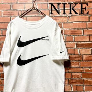 NIKE - ‼️NIKE‼️ナイキ ダブルスウッシュ tシャツ ビッグロゴ SWOOSH 白
