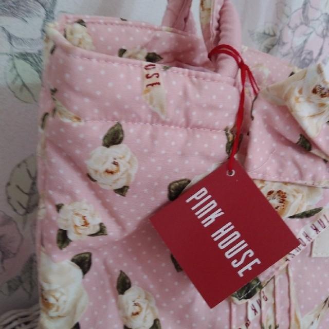 PINK HOUSE(ピンクハウス)のインザバッグシリーズ   バッグとハンカチ レディースのバッグ(トートバッグ)の商品写真