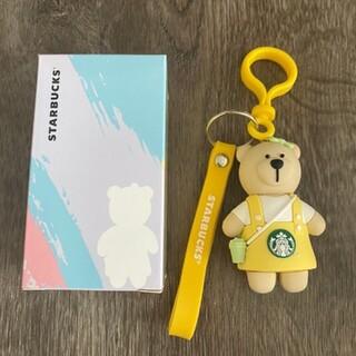 Starbucks Coffee - スターバックス Starbucks べアリスタ キーホルダー 新品