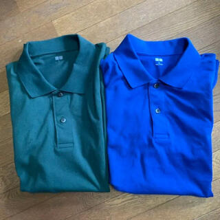 ユニクロ(UNIQLO)の2点セット!! [美品] ユニクロ 半袖 ドライカノコポロシャツ(ポロシャツ)