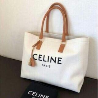 celine - CeLIne トートバッグ ホリゾンタル ロゴプリント