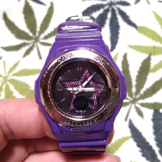 ベビージー(Baby-G)のCASIO Baby-G bga-103 ジーショック パープル(腕時計)