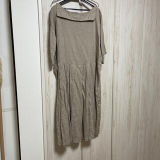 フォグリネンワーク(fog linen work)のnest robe fog linen workリネンワンピース 最終値下げ(ロングワンピース/マキシワンピース)