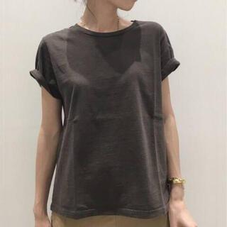 アパルトモンドゥーズィエムクラス(L'Appartement DEUXIEME CLASSE)のアパルトモン REMI RELIEF Compact Tシャツ(Tシャツ(半袖/袖なし))