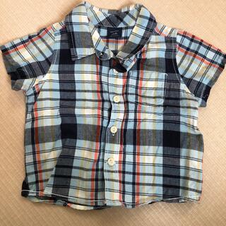 ベビーギャップ(babyGAP)のbabyGap  チェックシャツ(Tシャツ/カットソー)