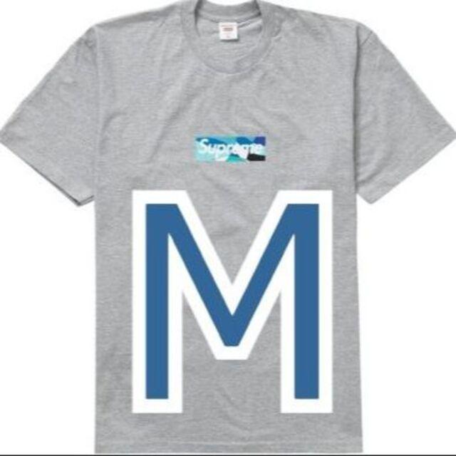 Supreme(シュプリーム)のSupreme Emilio Pucci Box Logo Blue M メンズのトップス(Tシャツ/カットソー(半袖/袖なし))の商品写真
