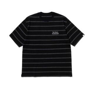 1LDK SELECT - XL ennoy pique border t-shirts black