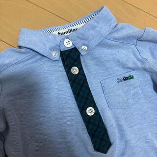 ファミリア(familiar)のファミリア 90cm 男の子 ポロシャツ (Tシャツ/カットソー)