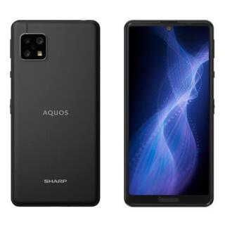 AQUOS - SH-M17B AQUOS sense5G ブラック 64 GB