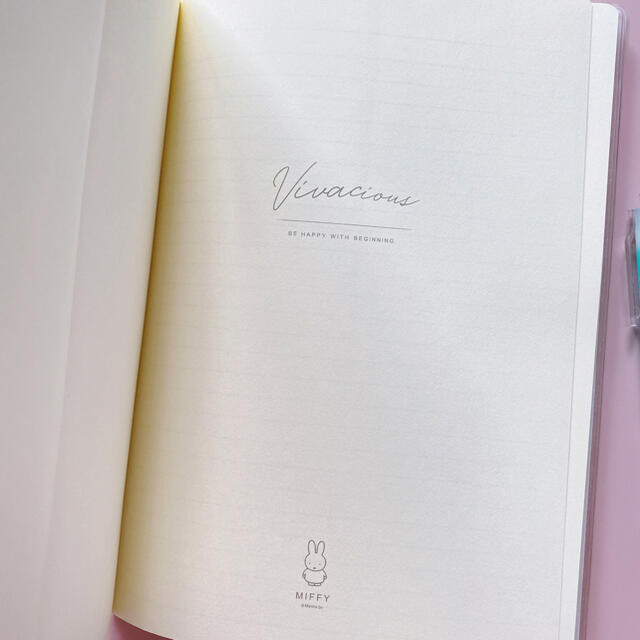 海外限定 ミッフィー  ノート ペン miffy インテリア/住まい/日用品の文房具(ペン/マーカー)の商品写真