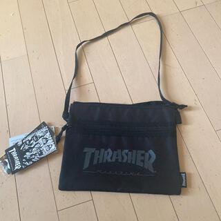 THRASHER - THRASHER スラッシャー 未使用新品タグ付きステッカー付きサコッシュ