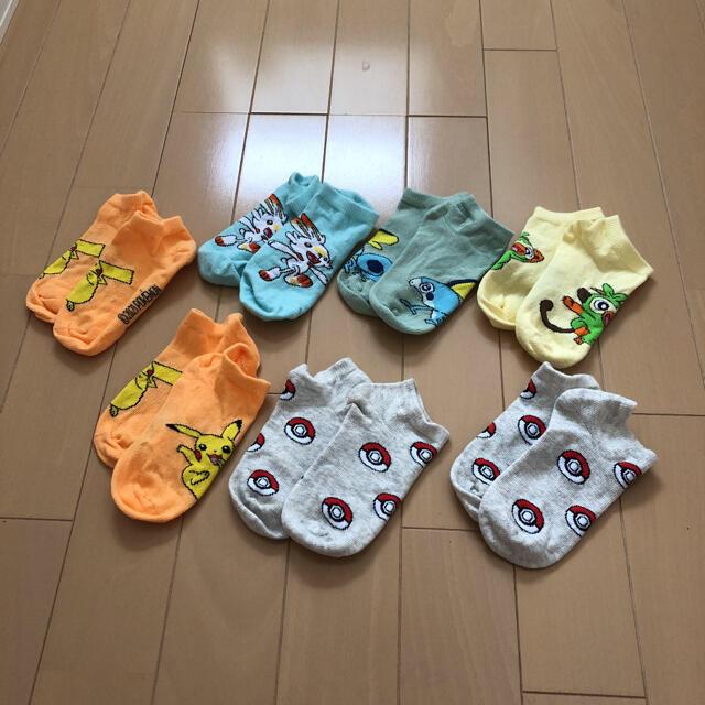 ポケモン(ポケモン)のポケモン 靴下 キッズ/ベビー/マタニティのこども用ファッション小物(靴下/タイツ)の商品写真