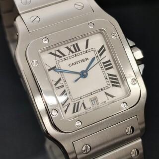 カルティエ(Cartier)のCartier  サントスガルベLM クォーツ  1564 SS スクエア (腕時計(アナログ))