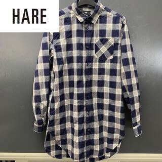 HARE - 【HARE】(ハレ) チェック柄シャツコート 古着