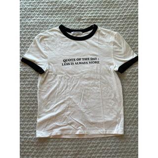 ZARA - ZARA パイピングTシャツ