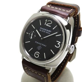 PANERAI - パネライ 腕時計  ラジオミール ブラックシール ロゴ PAM00