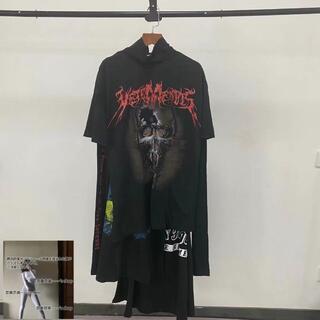vetements スカルドレス メタルロゴ タイタニック tシャツ